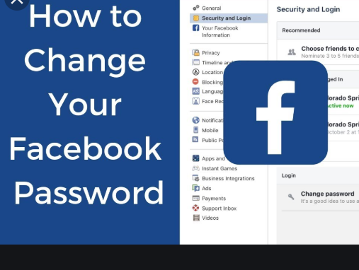 How To Change Your Facebook Password – Steps