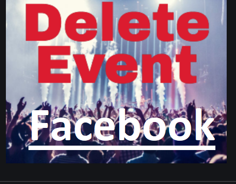 How to delete an event on Facebook - Simple steps