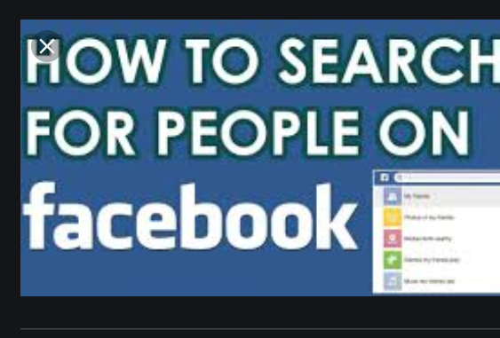 How To Search For People On Facebook - Find People on Facebook